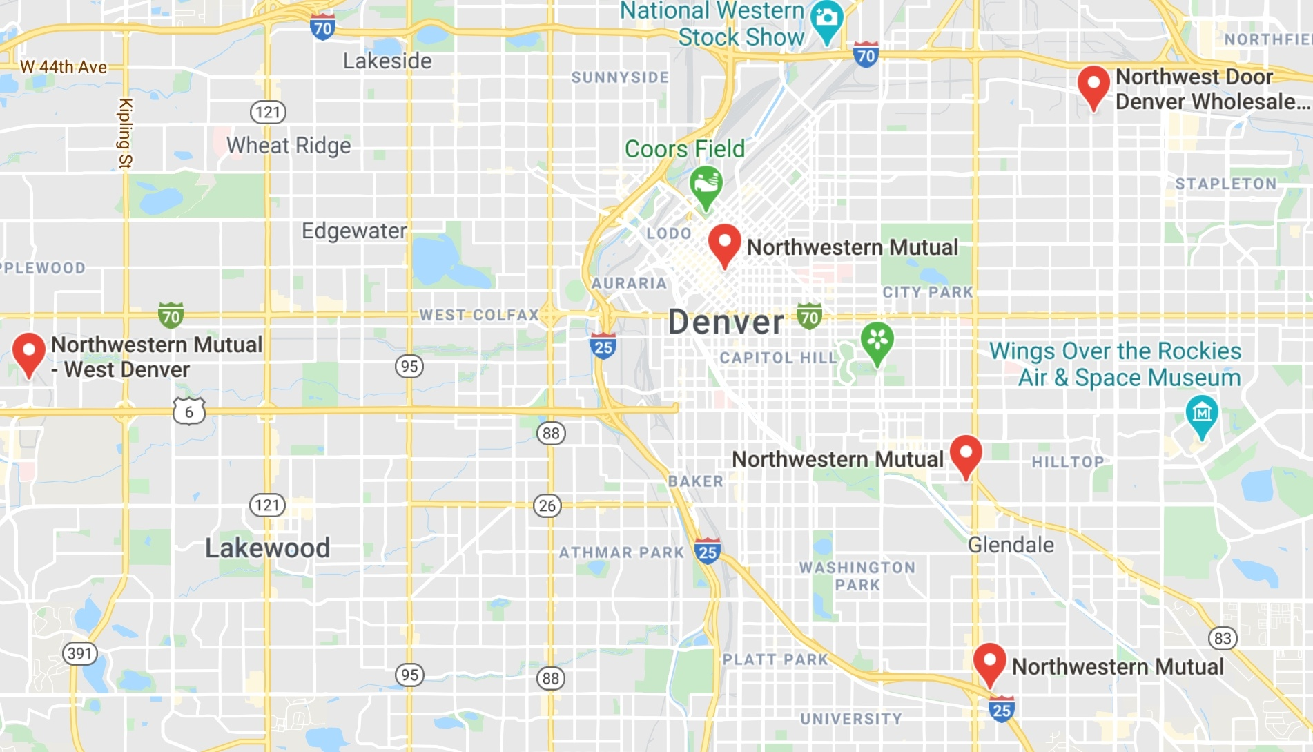what are the bad areas of denver? top 10 most dangerous