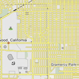 Lock_Haven_Inglewood_Los_Angeles_CA_Map
