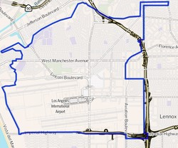 Westchester_Inglewood_Los_Angeles_CA_Map
